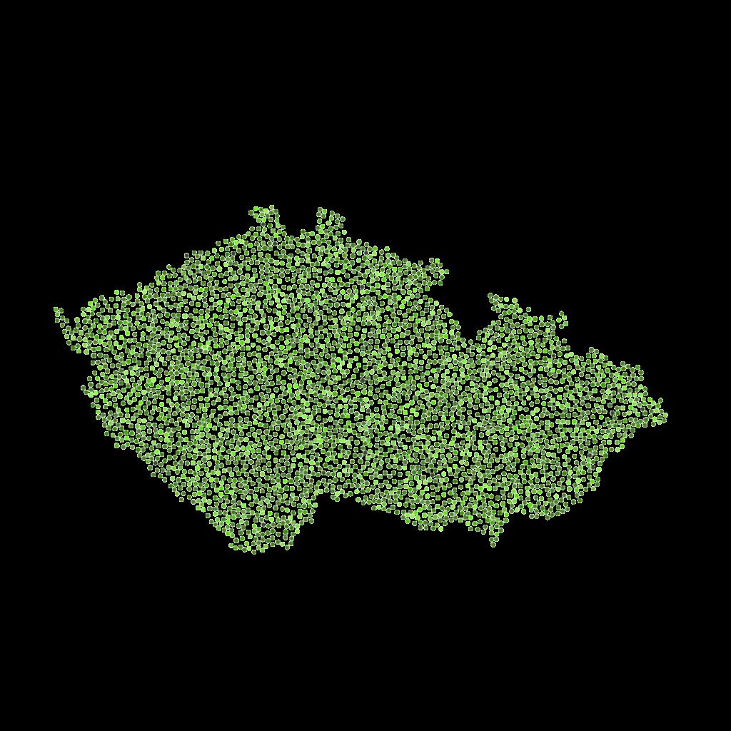 Mapa pokrytí Lemonpay